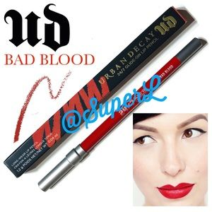 2/$25 Urban Decay Bad Blood Lip Liner Lipstick